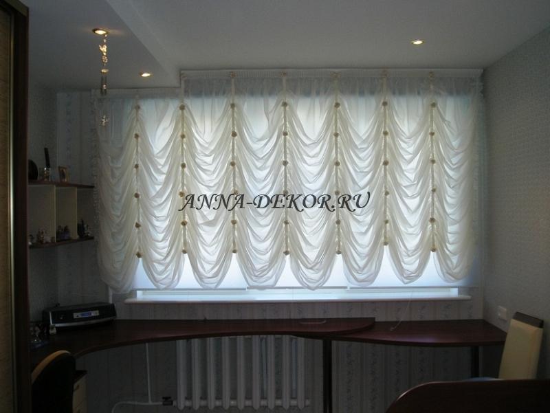 Французские шторы с фото