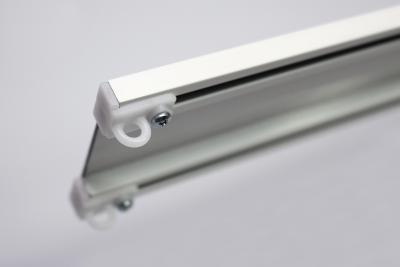 Профильный алюминиевый карниз для штор