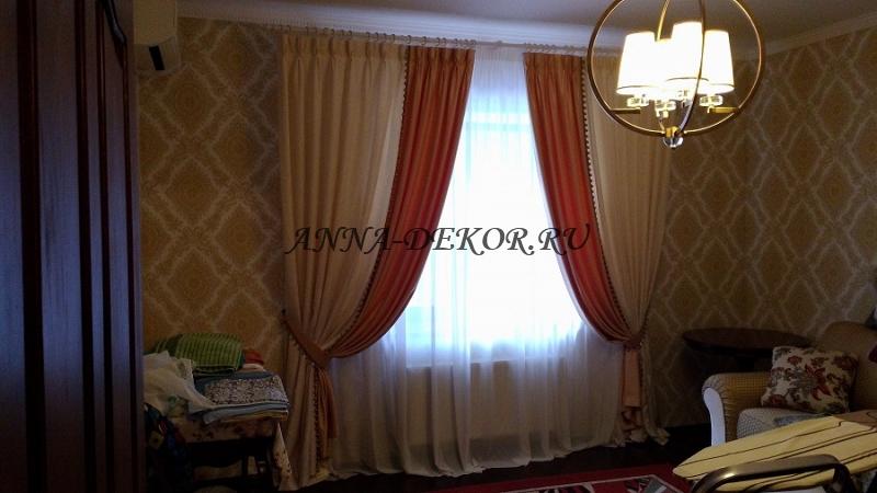образцы пошива штор для спальни - фото 7